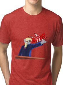 Derpy Wright - Ace Muffin Maker Tri-blend T-Shirt