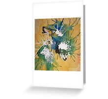 Many Faces Greeting Card