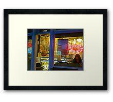 Hot Bagel on Fillmore Street Framed Print