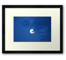 Moon over Florida Framed Print