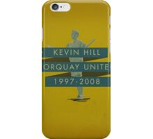 Kevin Hill - Torquay iPhone Case/Skin