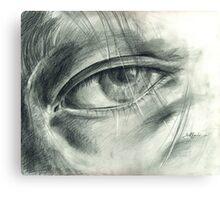 Eye Drawing Canvas Print