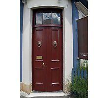 HOBART DOOR Photographic Print