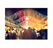 Festival Lighting Art Print