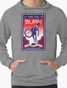 Feel the Burn retro cycling poster Lightweight Hoodie