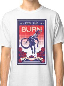 Feel the Burn retro cycling poster Classic T-Shirt