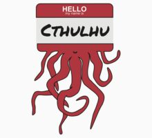 Hello My Name is Cthulhu 2 by shogunpete