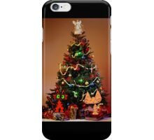 Two Cats Are Ready For Christmas iPhone Case/Skin