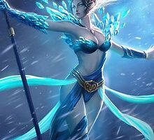 Janna League of Legends LoL by gleviosa