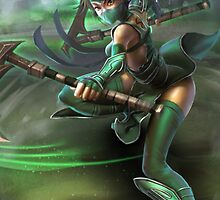 Akali League of Legends by gleviosa