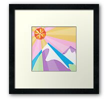 Mountains Framed Print