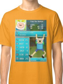 Finn PRG Stat Page Classic T-Shirt
