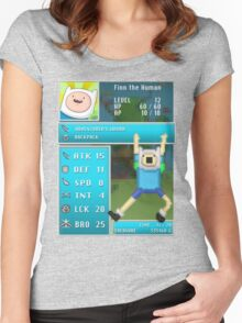 Finn PRG Stat Page Women's Fitted Scoop T-Shirt
