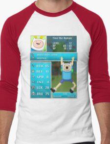 Finn PRG Stat Page Men's Baseball ¾ T-Shirt