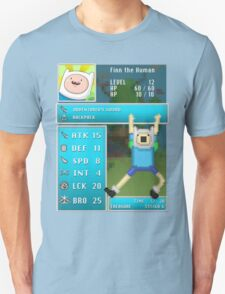 Finn PRG Stat Page Unisex T-Shirt