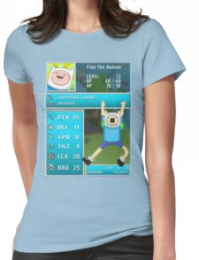 Finn PRG Stat Page Womens Fitted T-Shirt