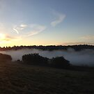 Mist over the River Medway. by victor55