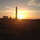 Sunset over dungeness by victor55