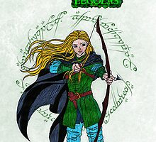 Legolas-Lord of the Rings by ChrisNeal