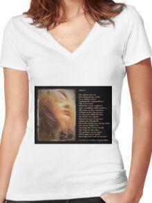 Muse Women's Fitted V-Neck T-Shirt