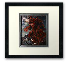 The Werewolf Thwlbr'x Framed Print