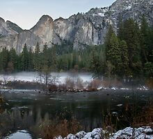 First Snow in the Valley  by James Webb