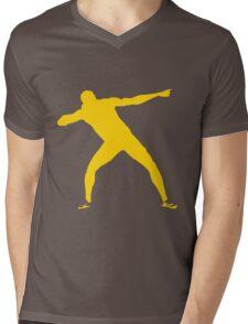 Usain Bolt Mens V-Neck T-Shirt
