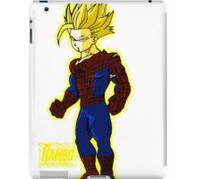 Spider Gohan Golden font iPad Case/Skin