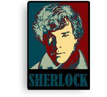 Sherlock Holmes Border Canvas Print