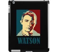 Sherlock Holmes Watson Border iPad Case/Skin