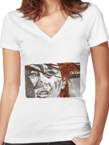 Leeloo Dallas - Perfect Being Women's Fitted V-Neck T-Shirt
