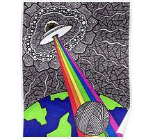 Intergalactic Yarn Thief Poster
