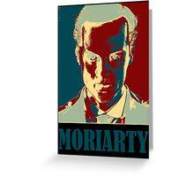 Sherlock Holmes Moriarty Border Greeting Card