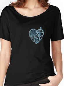 Bike Lover Heart x-ray  Women's Relaxed Fit T-Shirt
