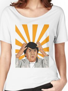 Jackie Chan Meme  Women's Relaxed Fit T-Shirt