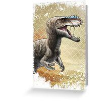 Alioramus Greeting Card