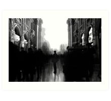 Human Flow - Milano Art Print