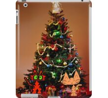 Two Cats Are Ready For Christmas iPad Case/Skin