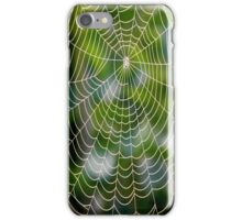 Playing with spiders iPhone Case/Skin