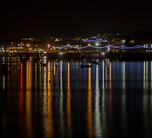The Prince of Wales Pier at Night by Brian Roscorla