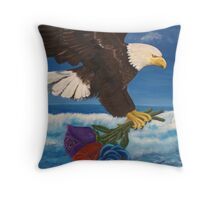 Courted By The GODHEAD Throw Pillow