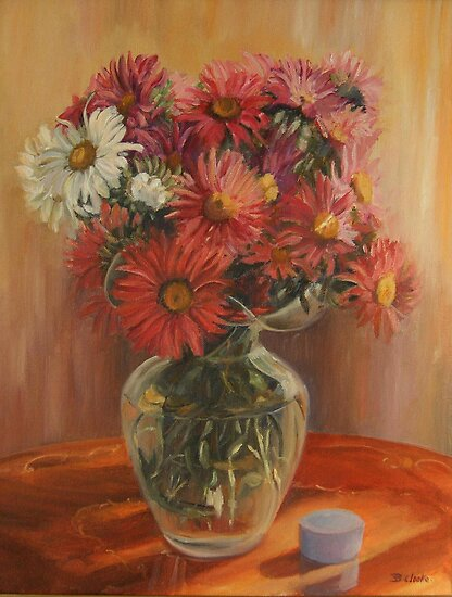 Asters by Beatrice Cloake