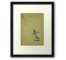 Iain Muir - Tranmere Rovers Framed Print