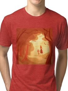 as autumn colors fall Tri-blend T-Shirt