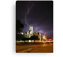 Weatherford Court House Canvas Print