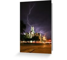 Weatherford Court House Greeting Card
