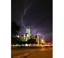 Weatherford Court House Photographic Print