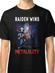 Raiden Wins Metalality (Iron Maiden) Classic T-Shirt