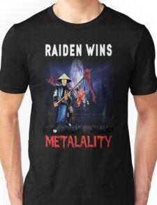 Raiden Wins Metalality (Iron Maiden) Unisex T-Shirt