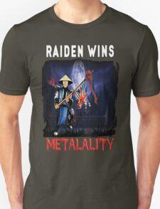 Raiden Wins Metalality (Iron Maiden) T-Shirt